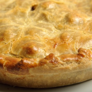Pork & Cider with Mustard Pies