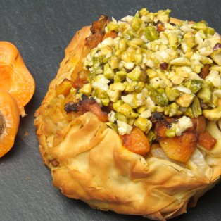 Vegetarian Moroccan Spiced Pie