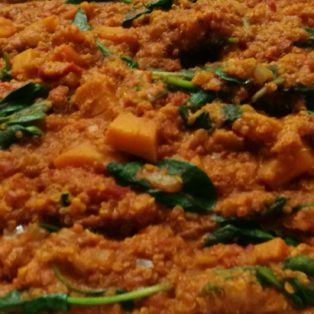 Butternut and Quinoa Curry